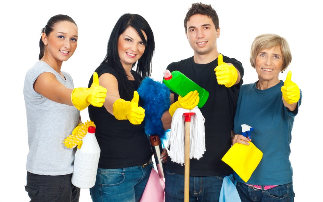 Call a Professional: Housecleaning Help when You Move Out or In